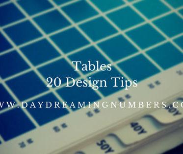 TablesDesign
