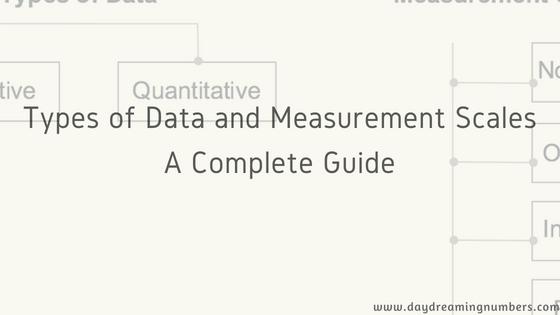 Types of data